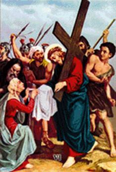 Imagen ilustrativa de la sexta estación del Vía Crucis