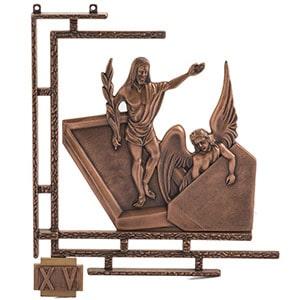 Vía crucis de bronce